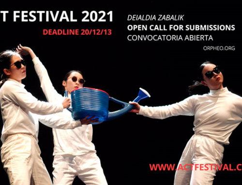 Convocatoria abierta ACT Festival 2021
