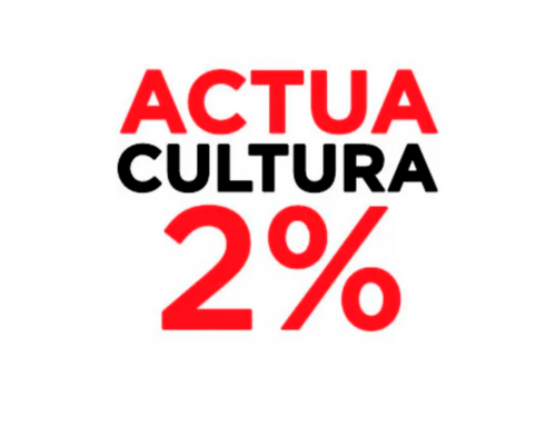Actúa Cultura pide un 2% para la Cultura
