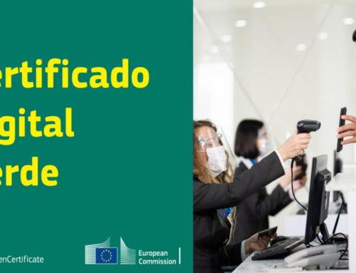 Certificado digital COVID-19 de la Unión Europea